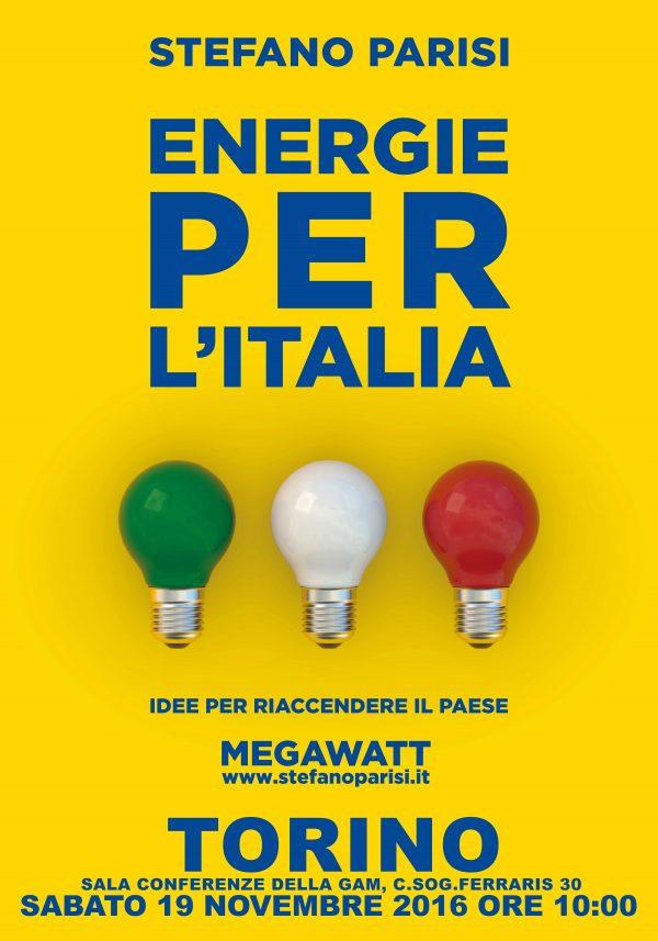 Manifesto Incontro con Stefano Parisi